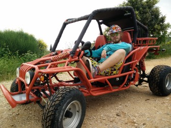 The dune buggy!