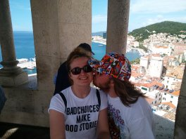 Kisses from the bell tower