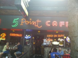 The 5 point cafe!