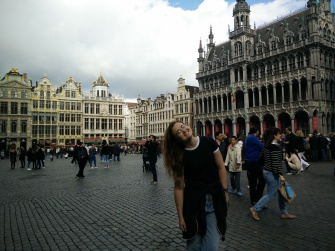 The Grand Place (and me)