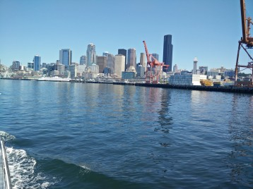 View of Seattle from the water