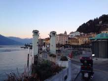 Ferry boarding at Lake Como