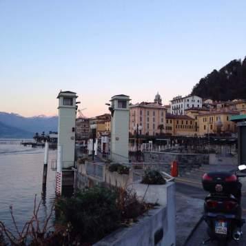 Ferry boarding at Lake Como